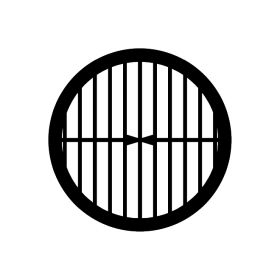 Parallel Bar 100 Mesh with Single Bar TEM Support Grids