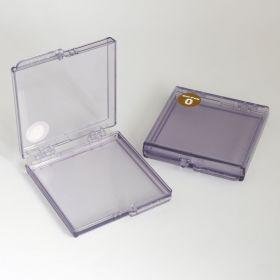 Gel-Pak Boxes, Clear, Anti-Static, AD Series