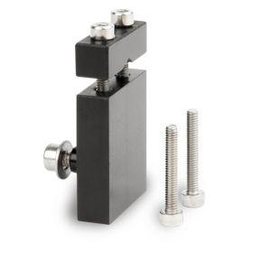 Screw double vice sample holder: Ø 12 mm maxi