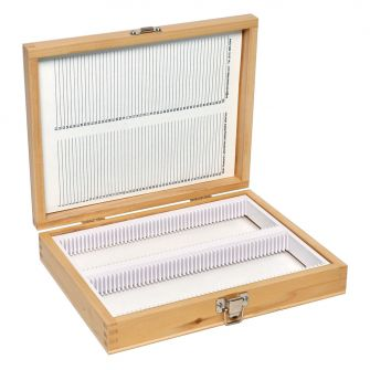 AGH102 Wooden Microscope Slide Storage Boxes