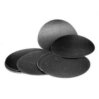 Self adhesive silicon carbide paper discs
