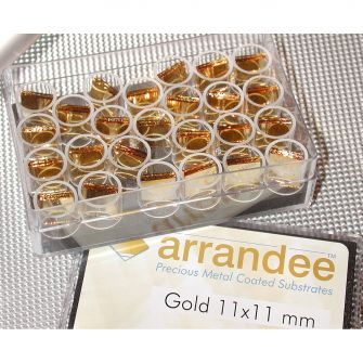 Arrandee? gold-coated substrates