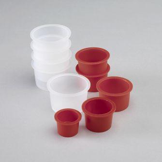 Polythene cups