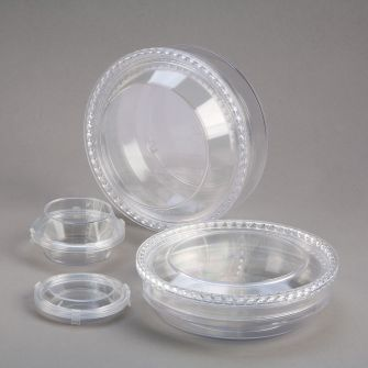 Storage boxes with membrane - Round
