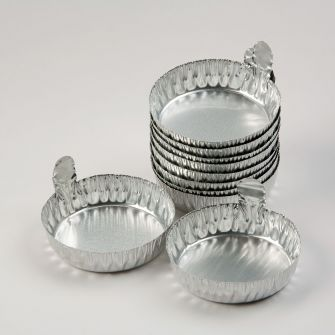 Aluminium dishes