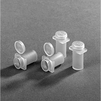 Embedding capsules (flat ended)
