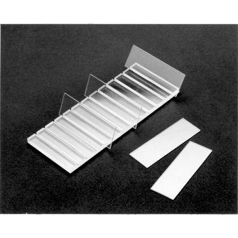 Perspex slide rack