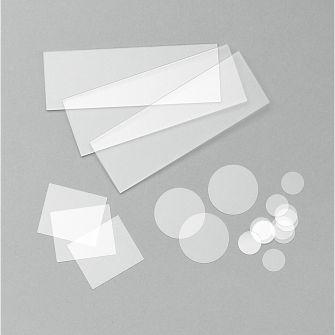 Quartz slides and coverslips