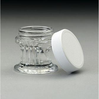 Staining jar for coverglasses