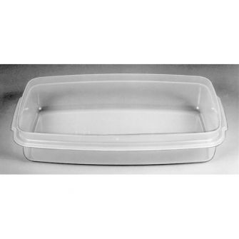 Microwave polymerisation tray