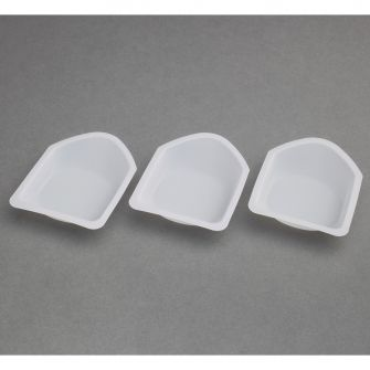 Anti-static weighing boats. Pack of 250