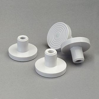Plastic embedding stubs