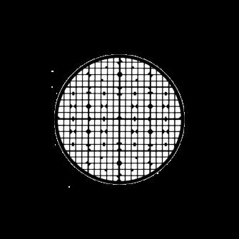 Finder grids for SEM specimens