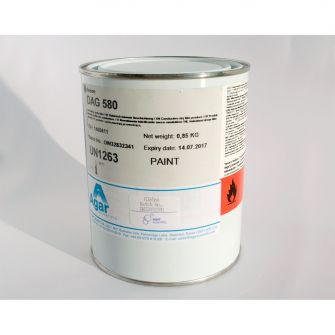 DAG 580 dry film lubricant