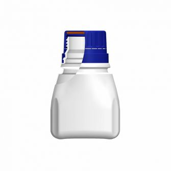 Double Tamper Evident Bottle 200ml White Cap
