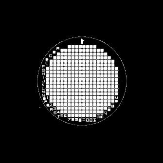 Finder grids - 200 Mesh (322 squares)