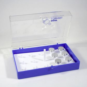 AGG3100 - SEM Stub Storage Box for up to 14 pin type stubs