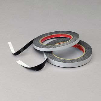 Conductive carbon adhesive tape - aluminium foil core