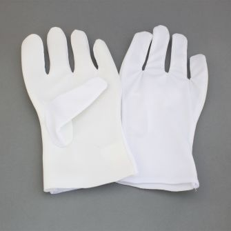 Pseudo-leather gloves