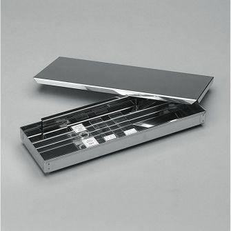 Immuno slide staining tray
