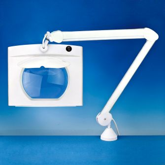 Rectangular Long Reach Magnifier Lamp