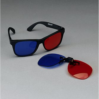 Red/Blue Stereo Glasses