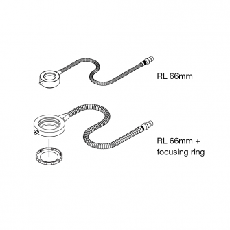 Continuous Ringlights for light microscopes