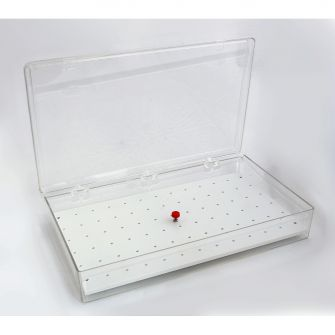 Large pin stub storage box
