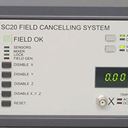 Magnetic field cancelling