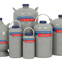 Liquid nitrogen dewars