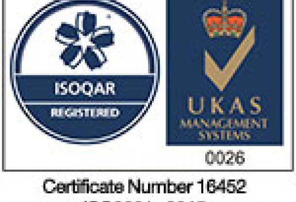 Now certified to ISO9001:2015!