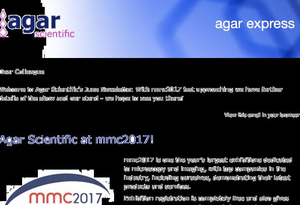 Agar Express June 2017 - mmc2017 approaches!