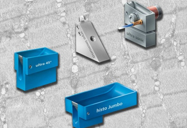 Diatome's latest range of diamond knives is available from Agar Scientific